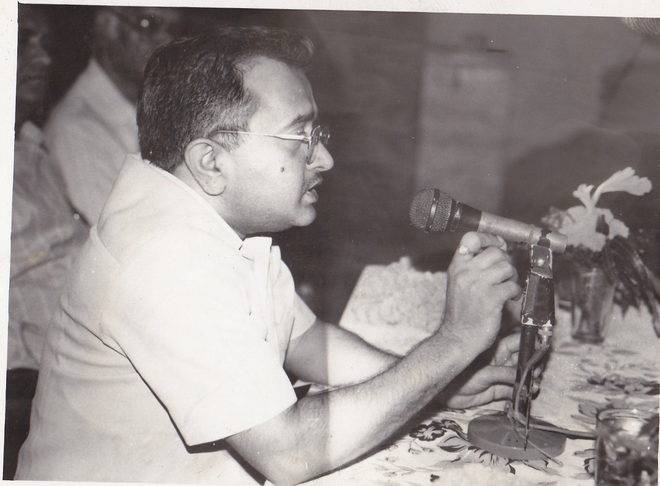 Participating in the literary programme during his early years