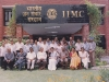 After orientation course at the Indian Institute of Mass Communication (left)