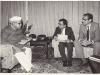 Interviwing Dr. Shankar dayal sharma as an editor of 'aajkal'