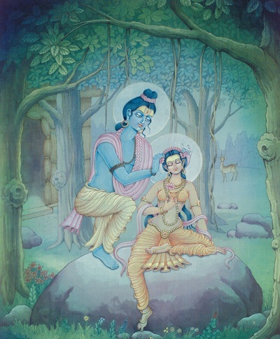 राम का पत्नी प्रेम